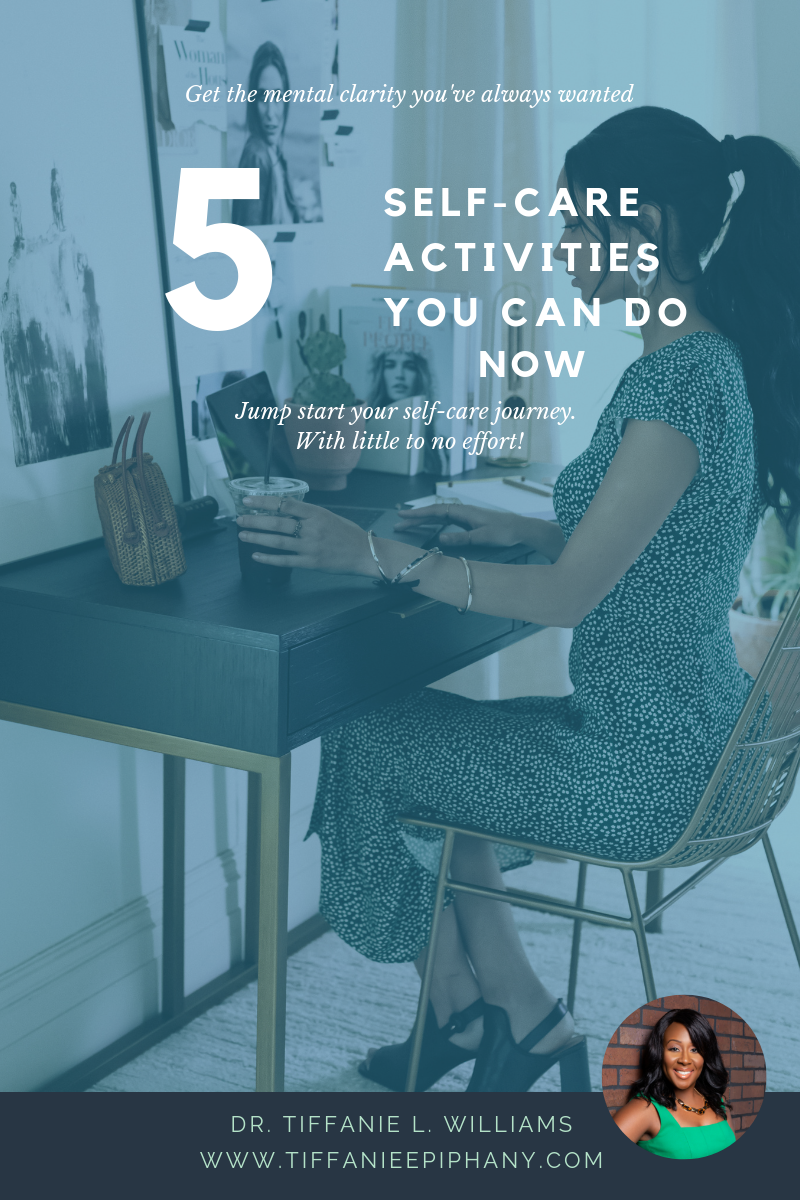 5 Self-Care Activities You Can Do Now